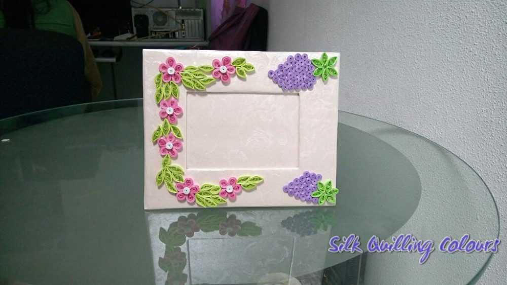 Quilling Photo frame - 4